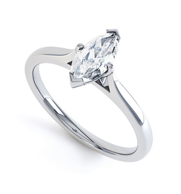 Azura Diamond Engagement Ring-859