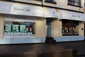 Birmingham Jewellery Quarter Showroom - Outside store