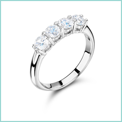 4 Stone Diamond Rings