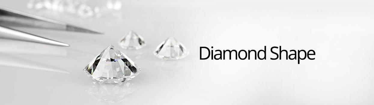 diamond shape banner
