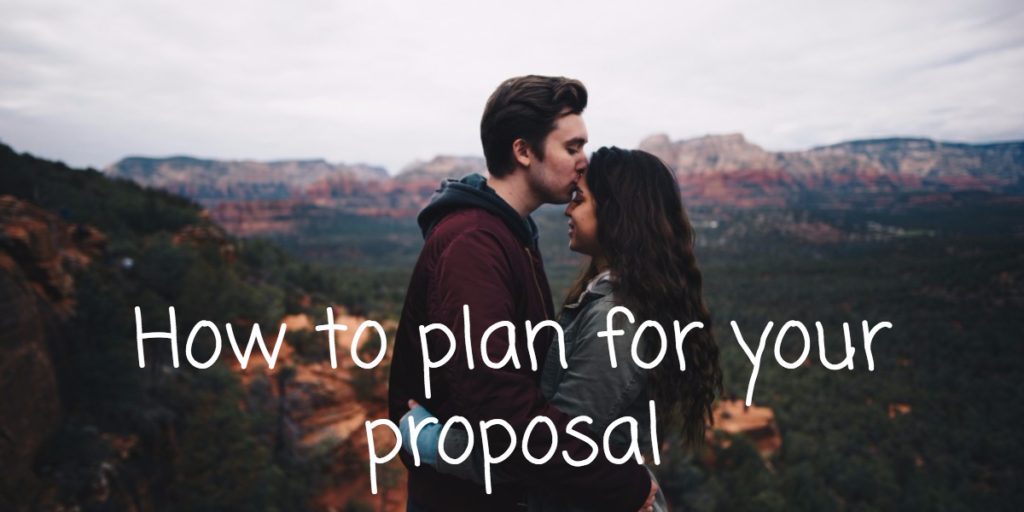 How to plan for your proposal