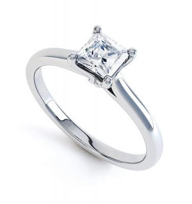 Daphne Elegant Princess Cut Ring