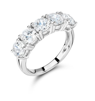 5 Stone Rings Diamond Dealer Direct
