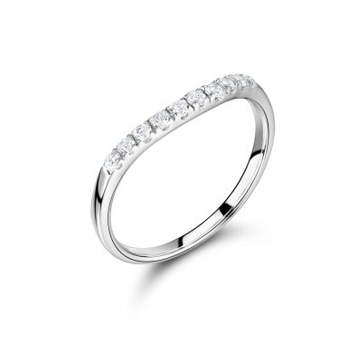 Viola marvelous round diamond eternity ring