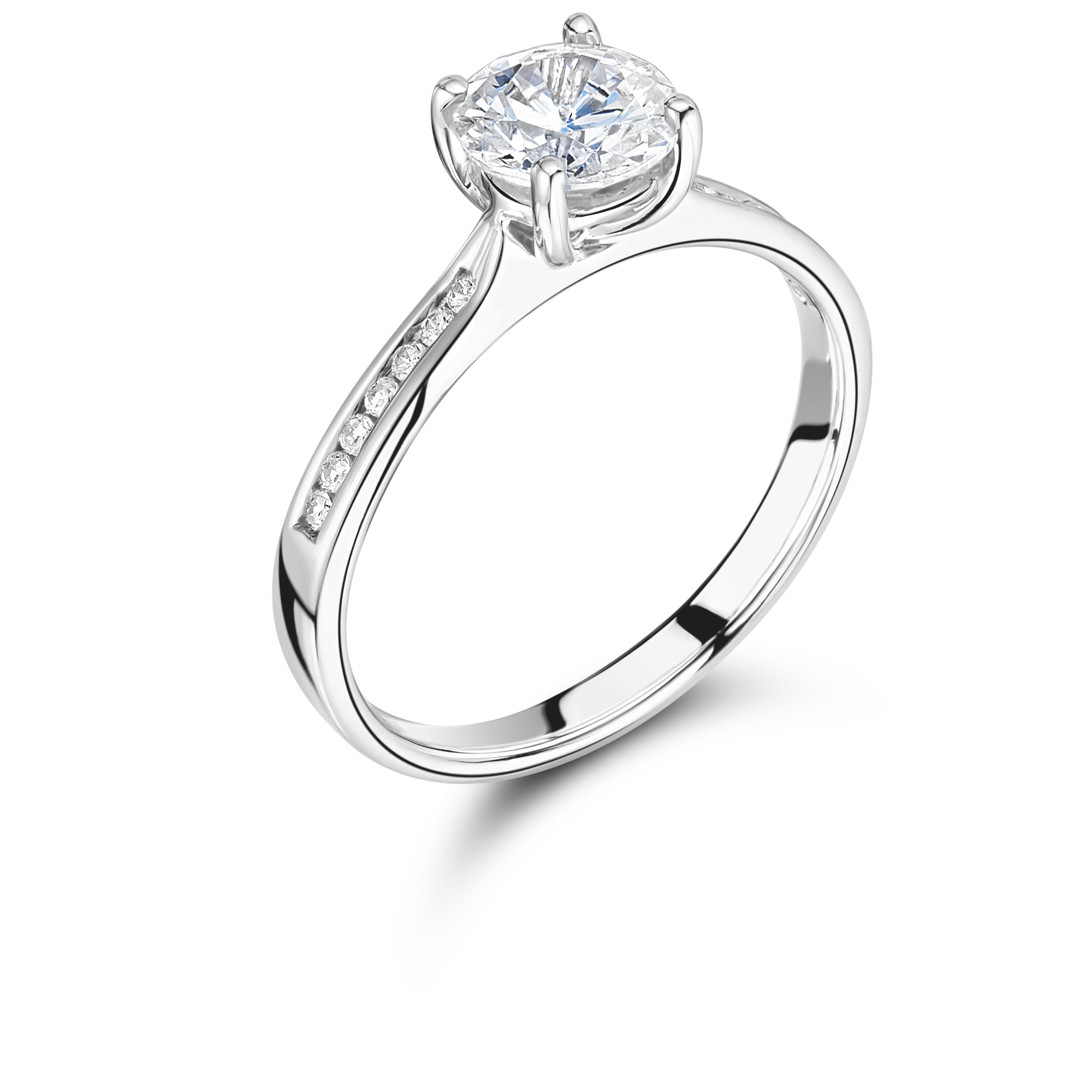 engagement solitaire igi rings certified platinum womens round image jewellery diamond ring delicate