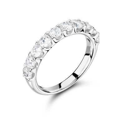Emme gorgeous 50% set eternity ring