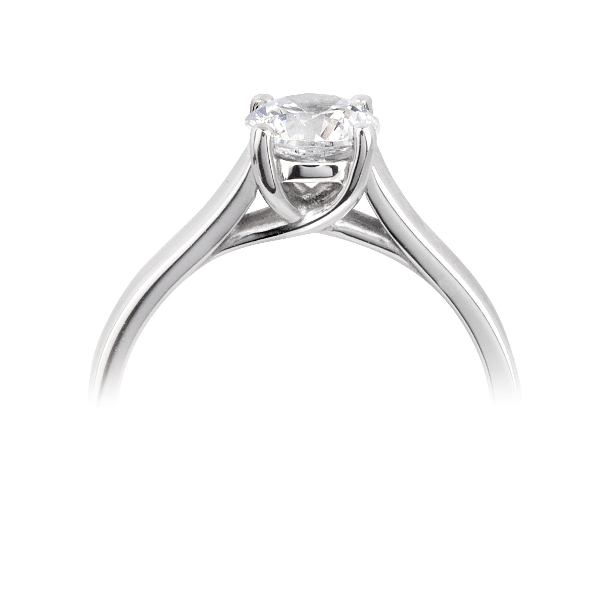collection princess ring white solitaire image diamond gold rings cut