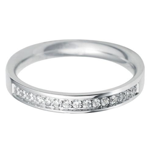 Flat Court Round Diamond 40 Wedding Ring 4mm Diamond Dealer Direct
