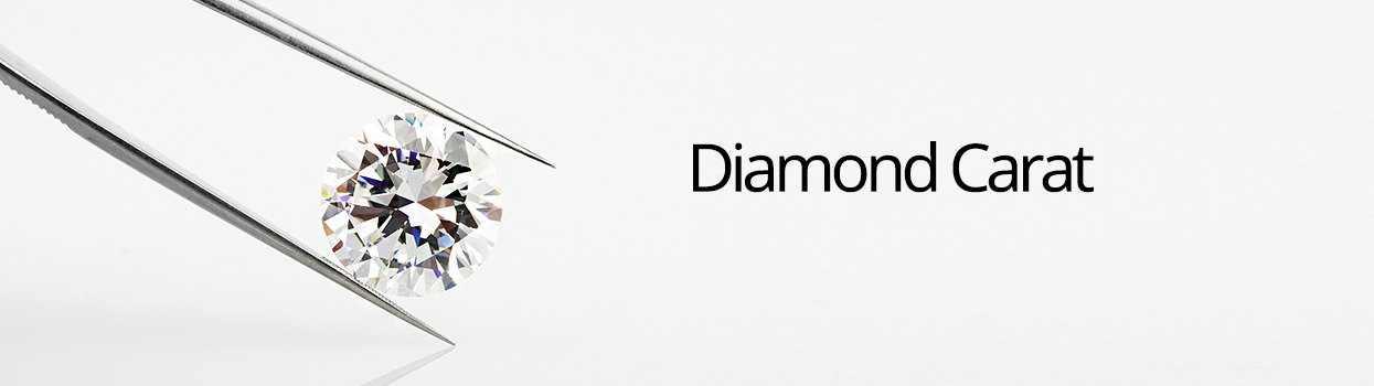 Diamond carat banner