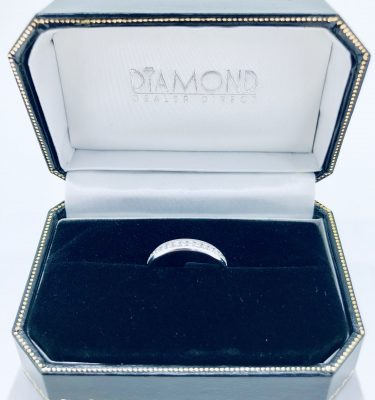 0.39Ct Round Cut Diamonds Eternity Ring