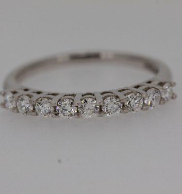 IGI Certified MultiStone Diamond Ring