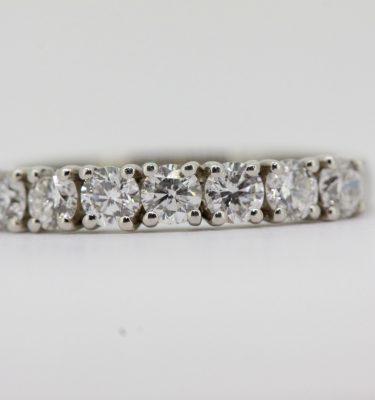 7 Stone Round Diamond Ring