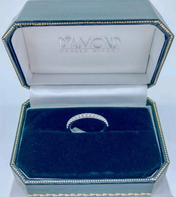 Round Diamond Eternity Ring 0.24ct platinum